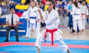 Andrea Armada clasificó a los Juegos CAC Barranquilla 2018