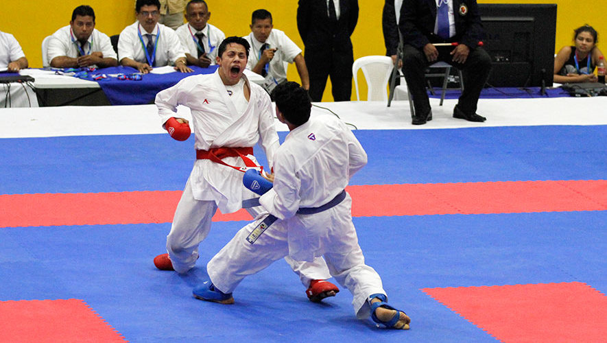 Guatemala consiguió 9 plazas en karate para Barranquilla 2018