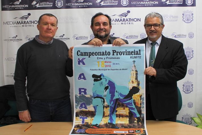 El II Trofeo de Kumité reunirá este domingo en Motril a más de 200 karatecas