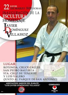 El jueves 22 de marzo se inaugurará la escultura homenaje a Luis Javier Domínguez 0 (0)