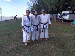 El entrenador español de Karate Javier Ferreira Vega, visitó Chascomús