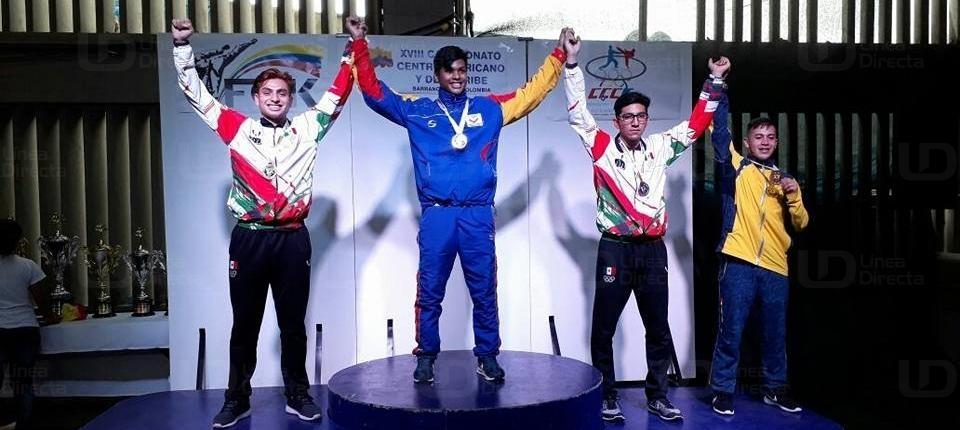 Jesús Moreno gana plata en Centroamericanos de Karate