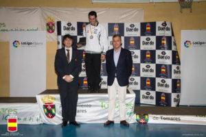 Fran Lozano, campeón de España