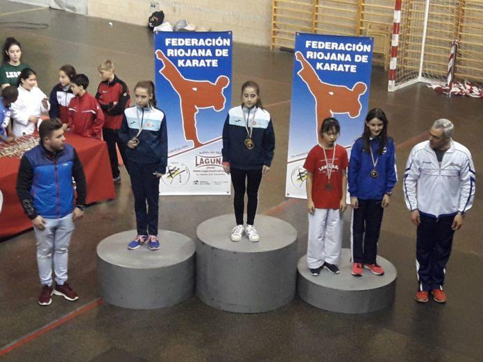 Morquecho logra dos oros en el Regional de La Rioja de Kárate