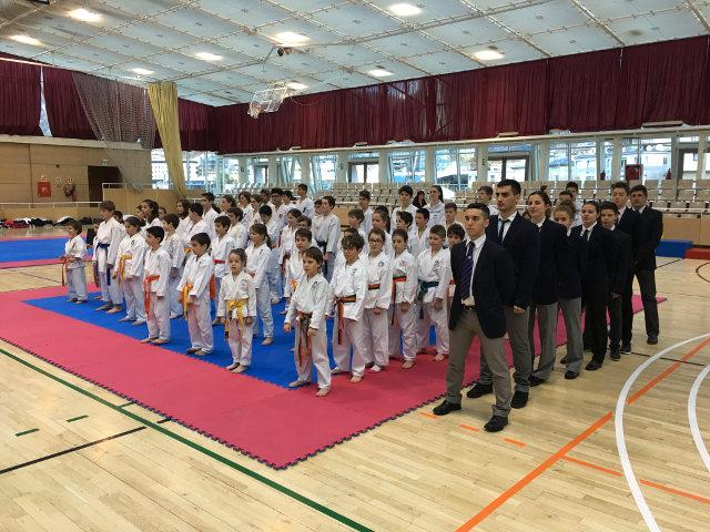 Muy Buena participación del Karate en el Campeonato Nacional de Andorra 2018
