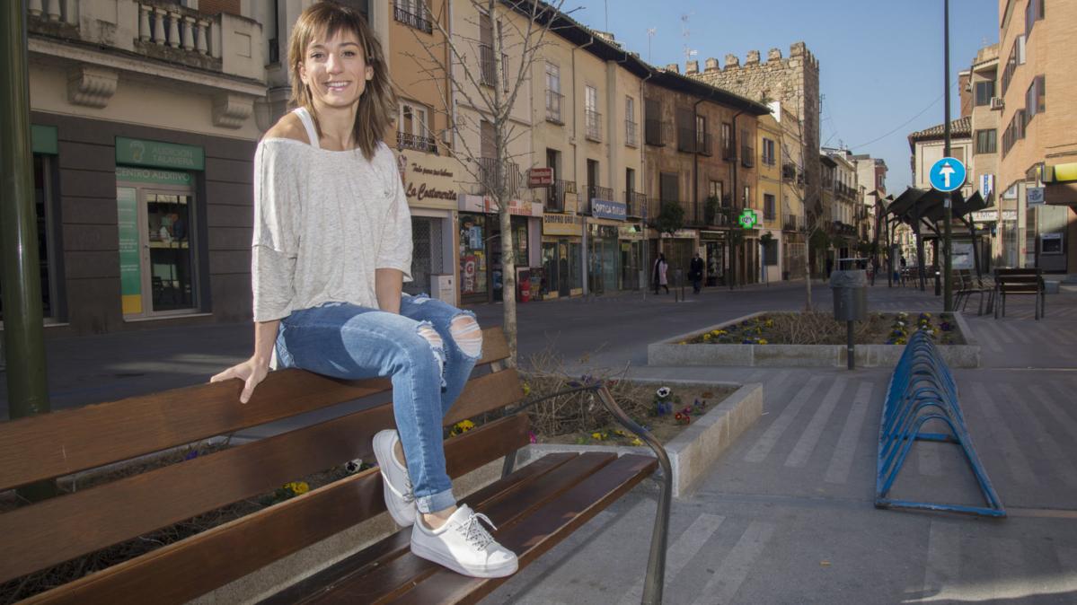 """Sandra Sánchez y el casco antiguo de Talavera, """"me encanta perderme por sus calles"""""""