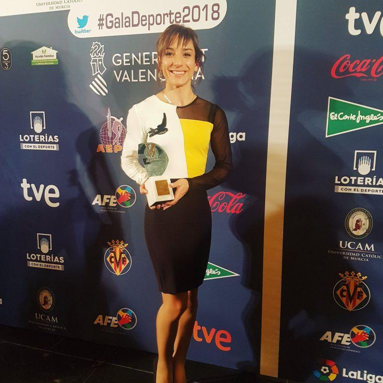 Otro premio para Sandra Sánchez 0 (0)