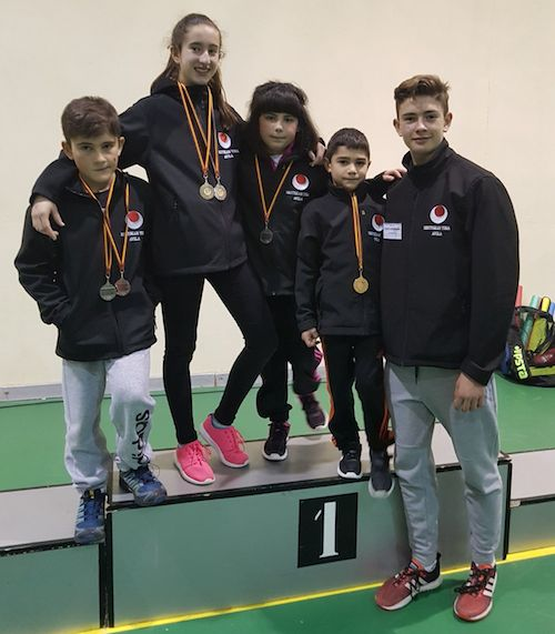 Seis medallas para los cuatro deportistas del Shotokan Tora que participaron en un torneo solidario 0 (0)