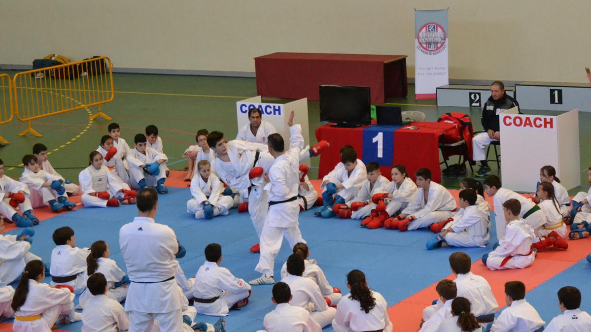 Una quincena de clubes participaron en el Torneo Infantil de Karate de Argés (Toledo)