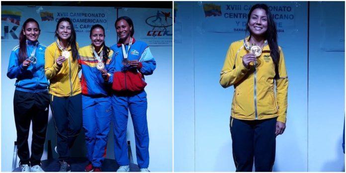Stella Urango ganó oro en el Campeonato Centroamericano y del Caribe de Karate Do 0 (0)