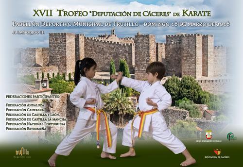 Unos cien karatekas de varias CCAA y Portugal participarán en Trofeo Cáceres