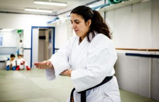 Cristina Juan, pasión sobre el tatami