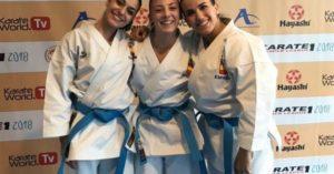 España se lleva el oro de kata femenino por equipos