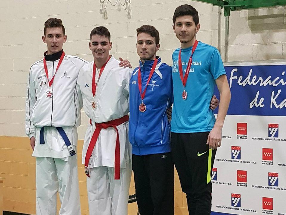El getafense Mario Cendrero se proclama campeón en Campeonato de Madrid Universitario de Karate