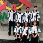 El Club de Kárate Ajei se hizo con dos terceros puestos por equipos en el Campeonato de Primavera por equipo