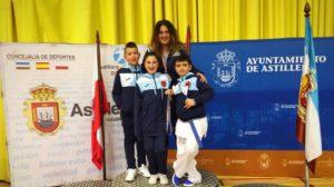 Dos medallas para Nicolás Carnota e Ildara García, del el Akai Ryu de kárate