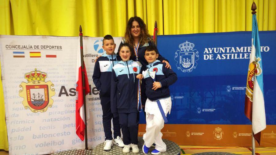 Dos medallas para Nicolás Carnota e Ildara García, del el Akai Ryu de kárate 0 (0)