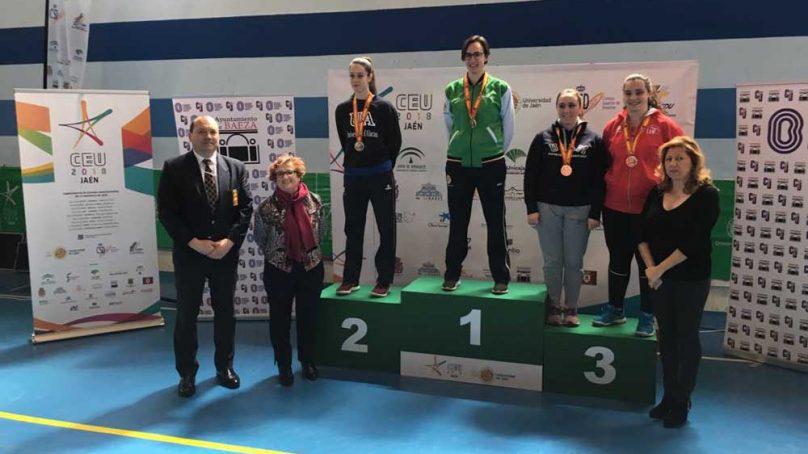 La karateca Alba Ruiz consigue la primera medalla de oro para la UJA en los CEU 0 (0)