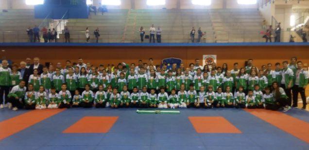 Almería consigue tres oros y un bronce en el Campeonato de España de Kárate