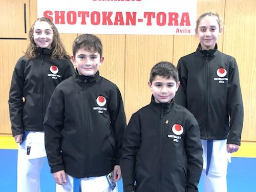 Cuatro deportistas del Shotokan Tora irán al Campeonato de España infantil
