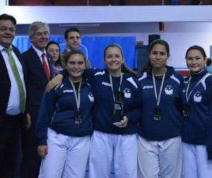 El Ayuntamiento de Puerto del Rosario felicita al equipo de karate del Club Deportivo Nago