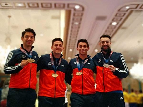 Karate tico conquista el oro por encima de EE. UU. en el US Open