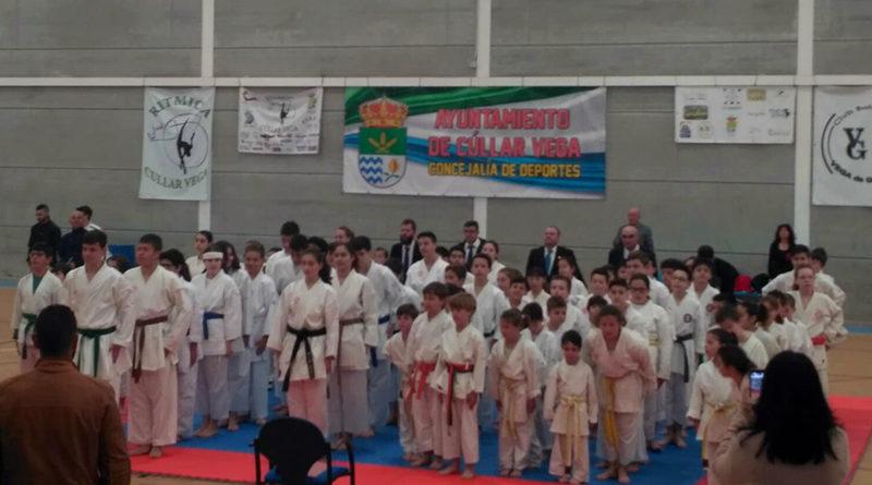 Más de 200 jóvenes deportistas participan en el III Campeonato de Kárate Cúllar Vega 0 (0)