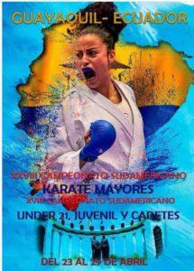 XXVIII Campeonato Sudamericano Guayaquil 2018
