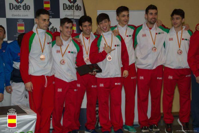 El Karate alavés brilla en el Campeonato de España absoluto