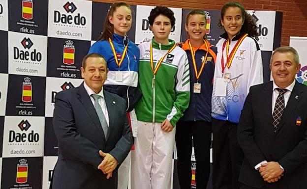 Los karatekas granadinos brillan con la selección andaluza en el Nacional infantil 0 (0)