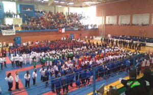 Más de 5.000 espectadores y 800 deportistas, en el Campeonato de España de Karate Infantil