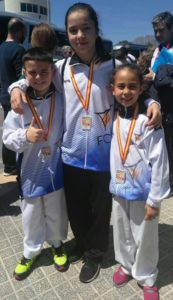 Nokachi en XL Campeonatos de España de Karate Infantil