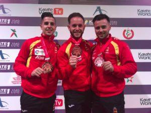 Nueva medalla para el karateca valenciano Pepe Carbonell