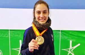 Rocío Sánchez se lleva el Título de España Universitario