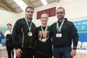 Seis medallas para el Club TODE de Arriondas en los Campeonatos de Asturias de Kárate