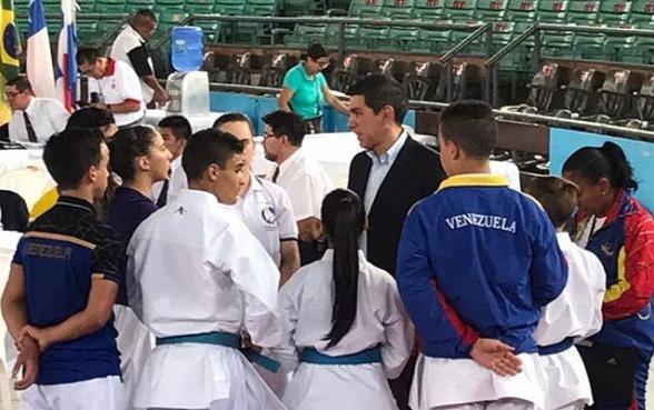 Venezuela comienza su participación en Sudamericano de Karate