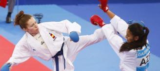 Cristina Ferrer se queda en los octavos de final de la Karate 1-Series A de Salzburgo 2019