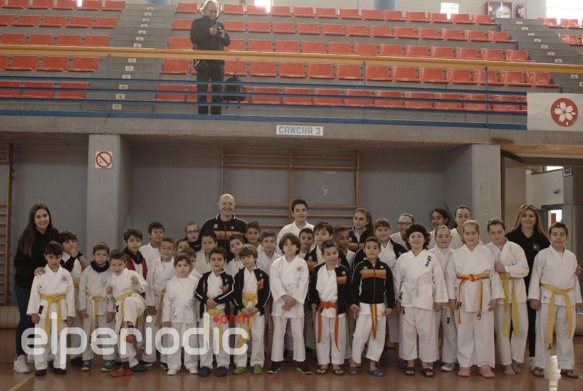 Celebración del IV Torneo Vila de Sedaví de Karate