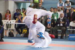 Agustín Farah se colgó la de bronce en karate