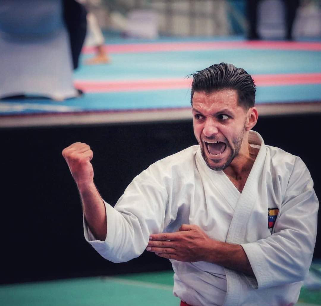 El karateka venezolano Antonio Díaz pasó a la final de kata en los Juegos Suramericanos 0 (0)