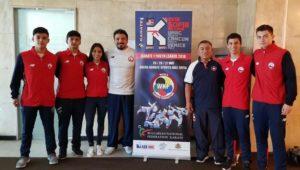 Atacameños destacan en la liga mundial juvenil de karate