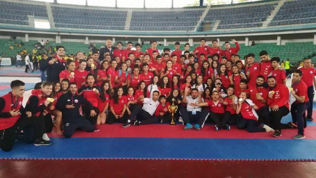 Team Chile logró el tercer lugar del medallero en Sudamericano de Ecuador