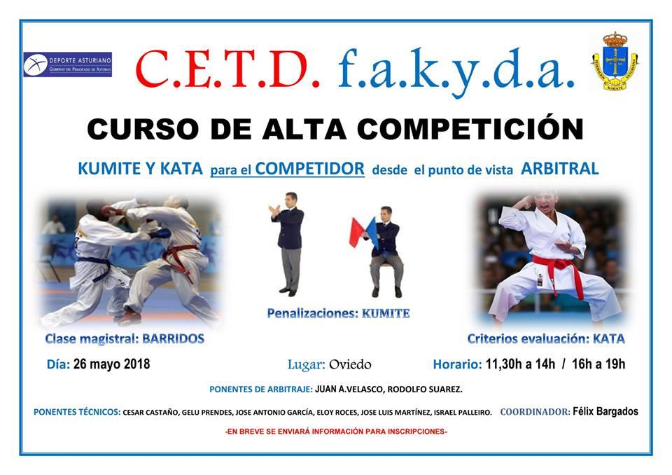 Curso de alta competición en el Centro Asturiano