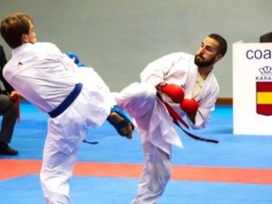 Matías Gómez cae eliminado en cuartos del Europeo de karate
