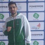 Boliviano Mohamed Dames gana bronce en karate y clasifica a los Panamericanos de 2019