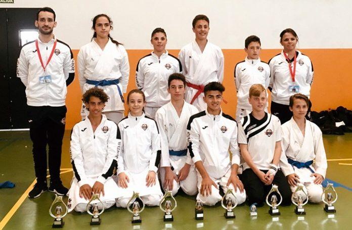 Diez títulos para el Olympic Karate Marbella en la Liga Provincial 0 (0)
