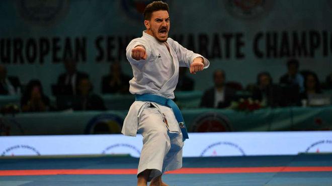 Damián Quintero va a por su noveno título de campeón de Europa de katas