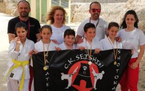 El Club Seishin logra seis medallas en el Campeonato de Promoción de Primavera