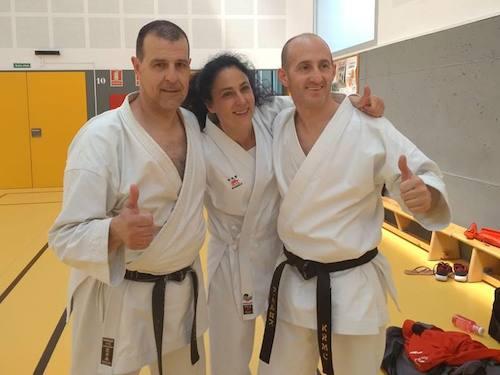 Tres deportistas del Gimnasio Ángel, seleccionados para el campeonato de España tradicional