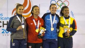 La cordobesa Valentina Castro, medalla de bronce en karate